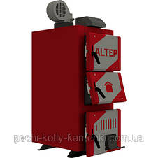 Твердопаливний котел тривалого горіння Альтеп CLASSIC PLUS 12 кВт (автоматика), фото 2