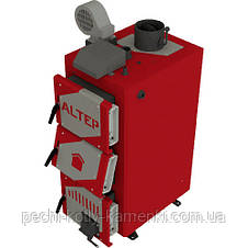 Твердопаливний котел тривалого горіння Альтеп CLASSIC PLUS 12 кВт (автоматика), фото 3
