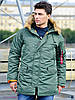 Куртка аляска Slim Fit N-3B Parka Alpha Industries, США (оливковая)