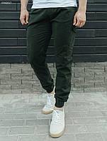 Мужские брюки Staff cargo haki modern