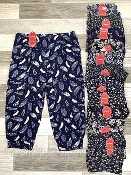 Cултанки женские 3/4 цветные бамбук Ласточка А403, с карманами, 403