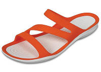 Женские Crocs Swiftwater Sandal orange