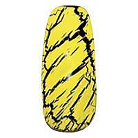 Трескающийся лак для ногтей Christian (желтый) №9, 6 мл