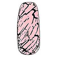 Трескающийся лак для ногтей Christian (розовый) №11, 6 мл
