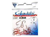 Крючок Gamakatsu LS-1040R № 6 Red 25 шт