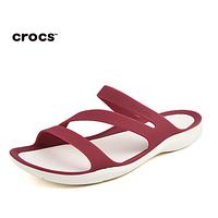 Женские Crocs Swiftwater Sandal bordo