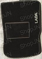 Ворсовые коврики ВАЗ 2108-2199, 2113- 2115 LADA  ( черный)