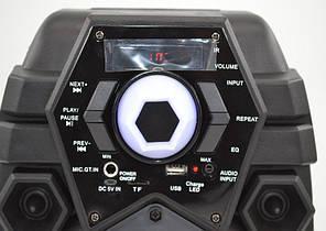 Беспроводная портативная bluetooth колонка - чемодан Q6 профессиональная акустическая мощная колонка, фото 2