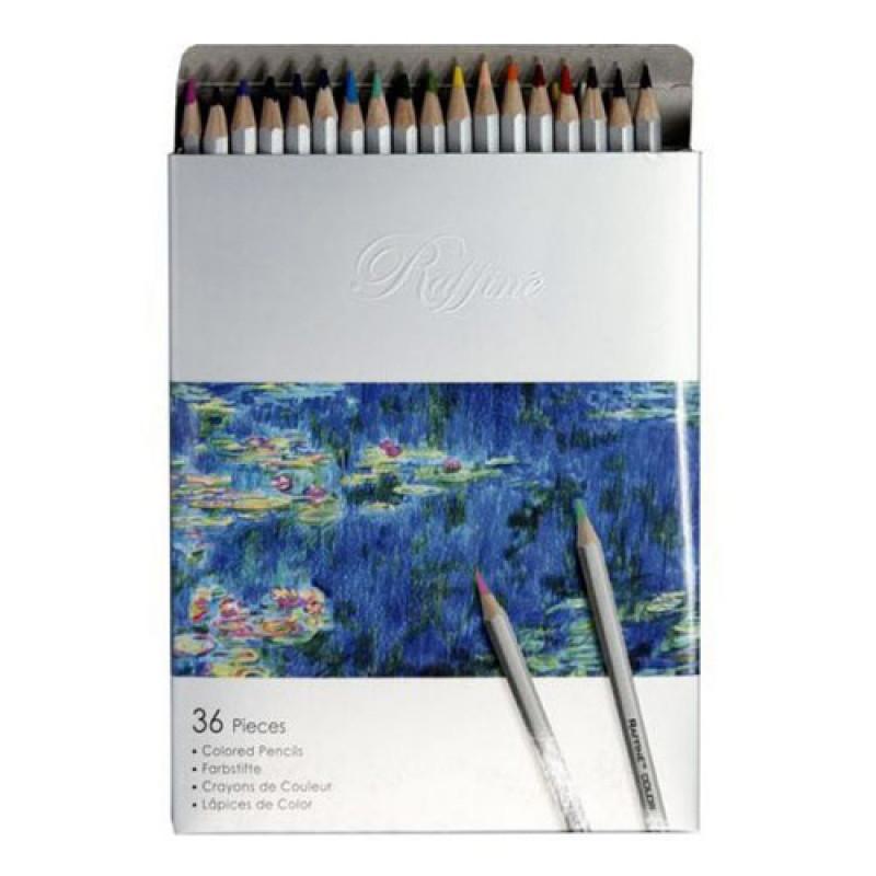 """Олівці 36 кольорів шестигранні, Raffine, 7100-36CB, ТМ""""Marco"""""""