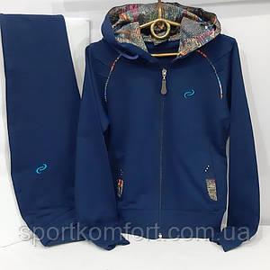 Детский хлопковый спортивный костюм, синий, Турция, обмен/возврат.