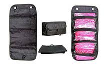 Косметичка Roll N Go Cosmetic Bag | Органайзер для косметики / Чорна, фото 3