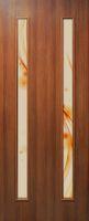 Двери Омис Вероника СС+ФП. Полотно+коробка+1 к-т наличников, ПВХ