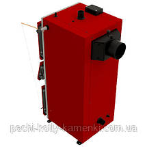 Твердотопливный котел длительного горения Альтеп DUO UNI PLUS 15 кВт, фото 2