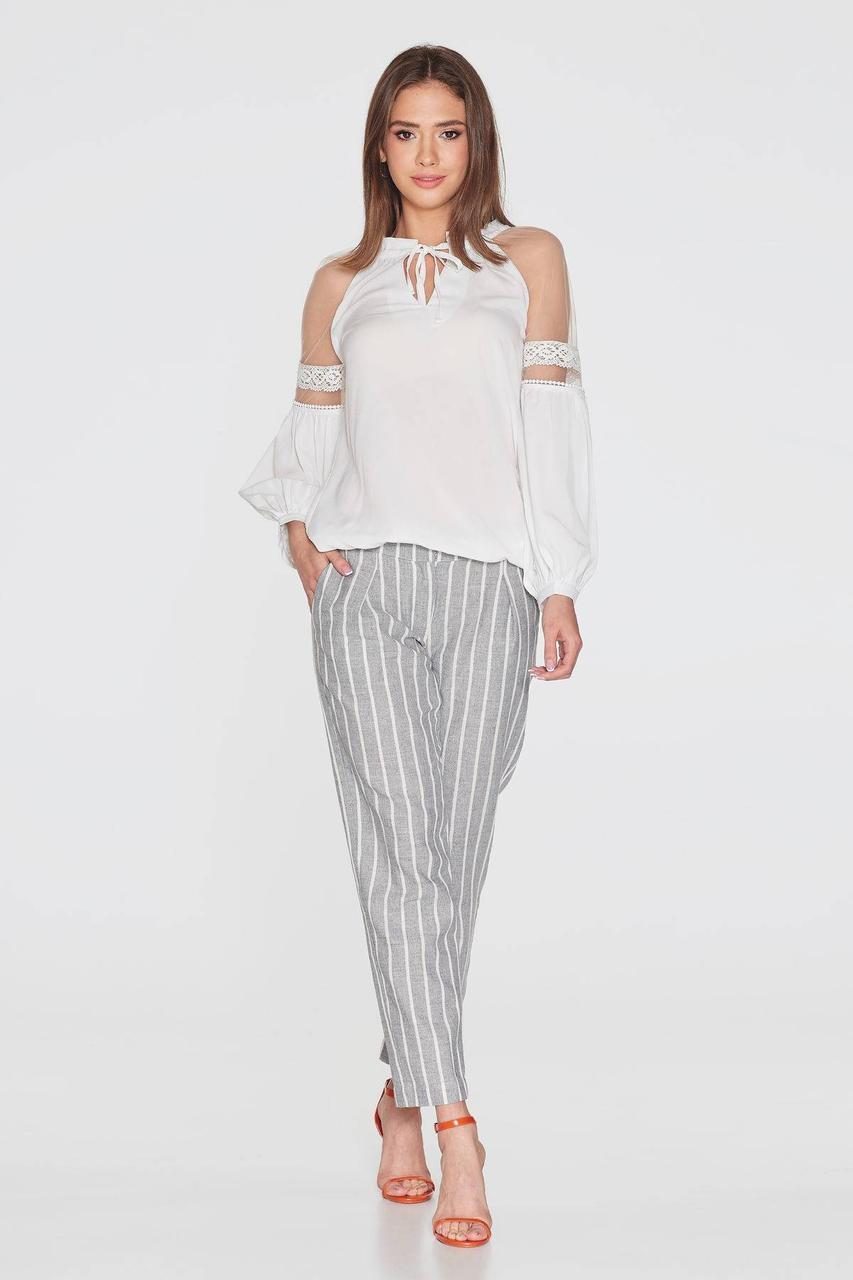 Блуза NENKA 783-с01 L Молочный