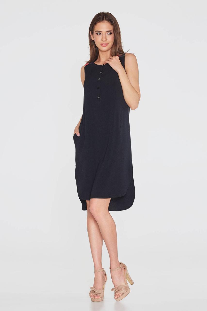 Платье NENKA 760-c01 M Черный
