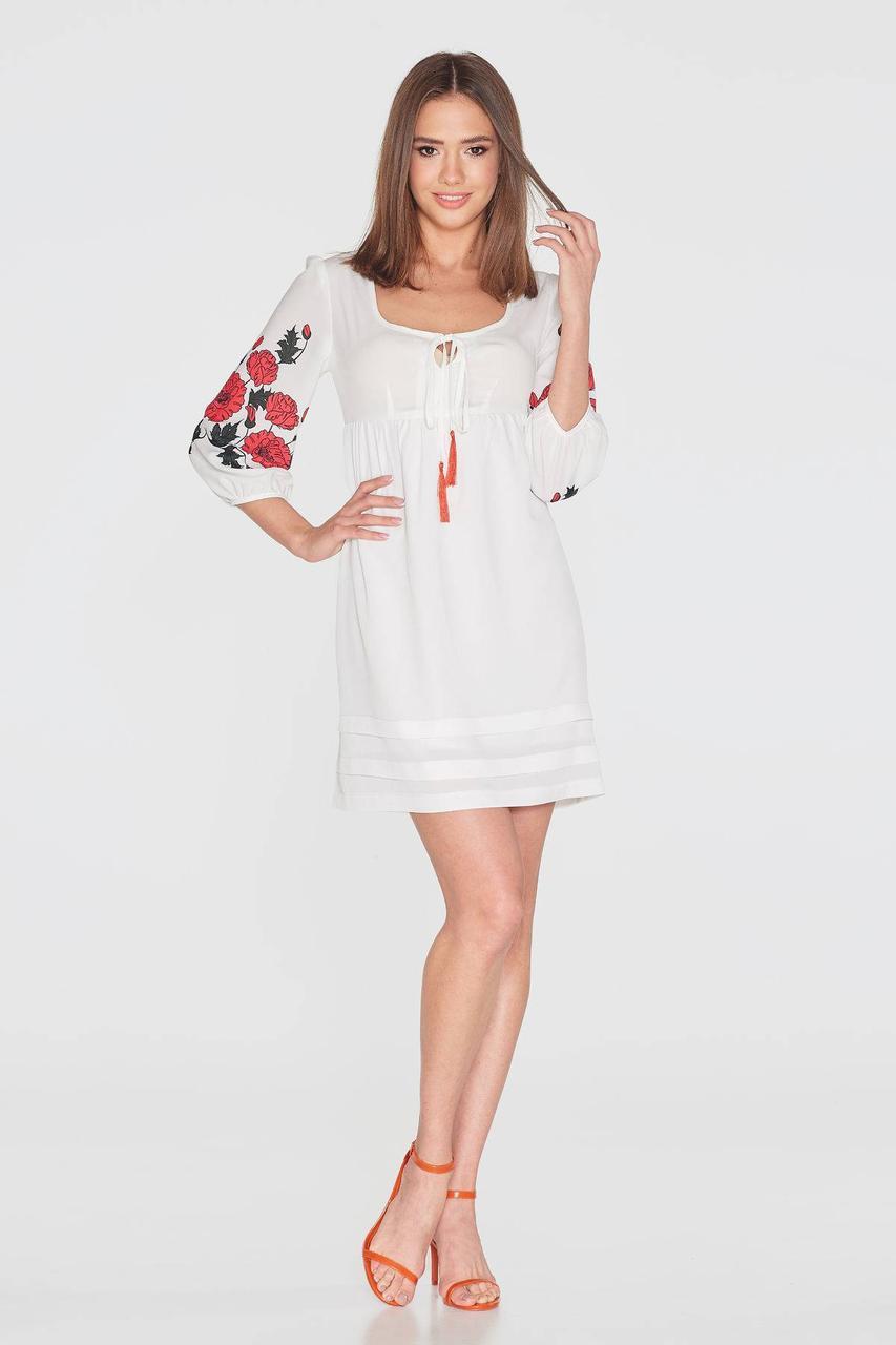 Платье NENKA 773-c01 S Молочный