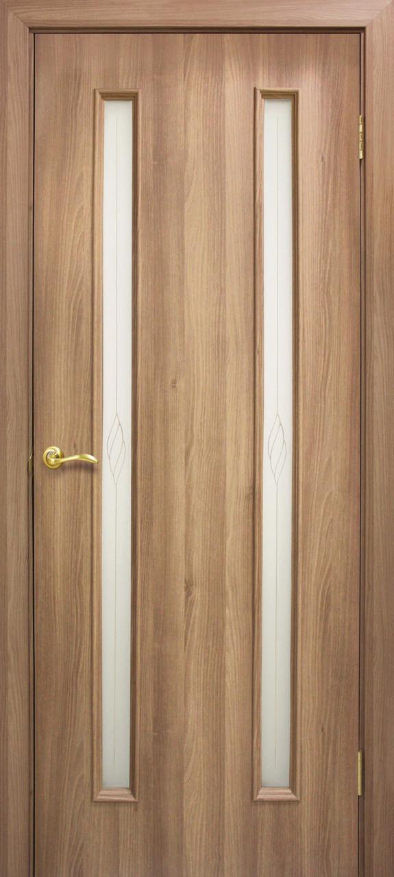 Двери Омис  Ника СС+КР. Полотно+коробка+2 к-та наличников+добор 100мм, ПВХ