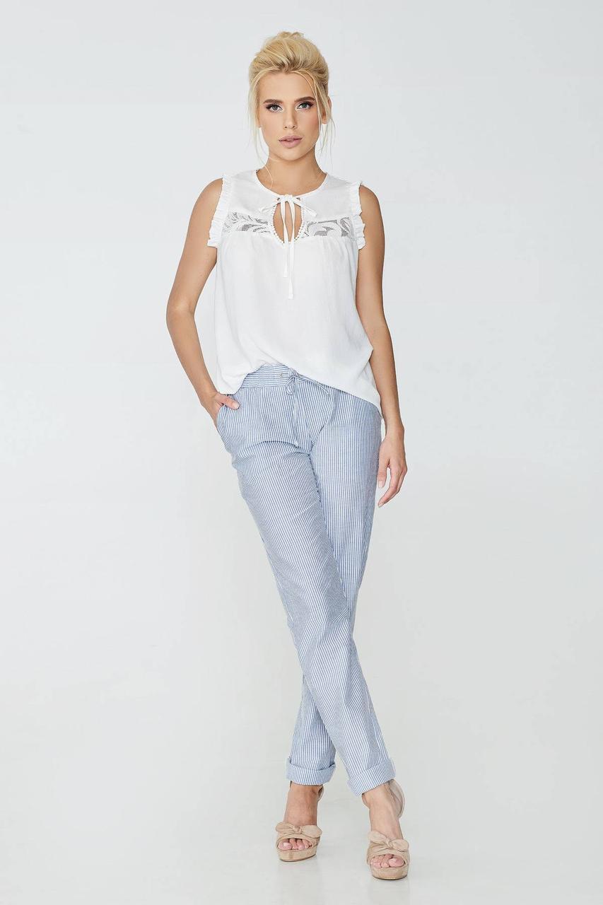 Блуза NENKA 603-с01 L Молочный