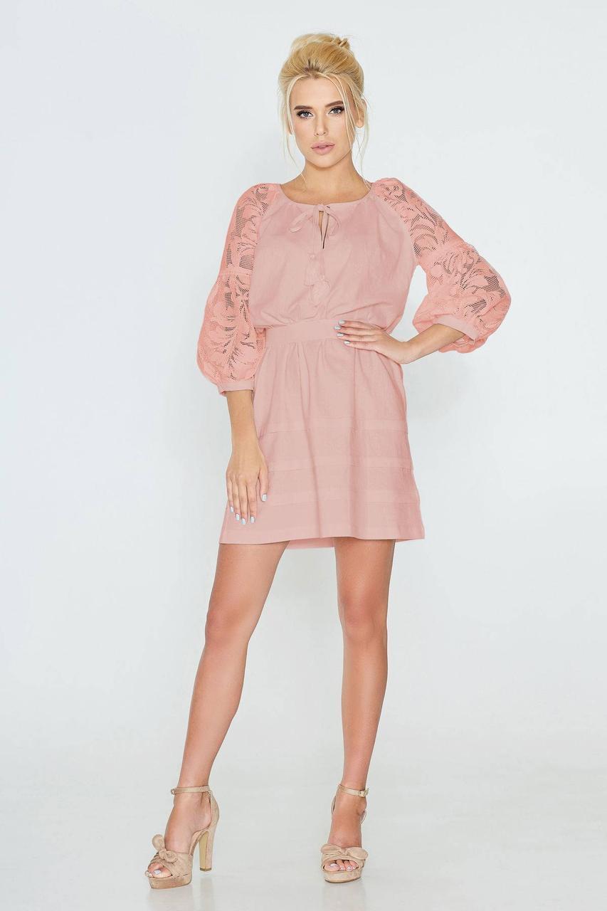Платье NENKA 593-с03 L Розовый