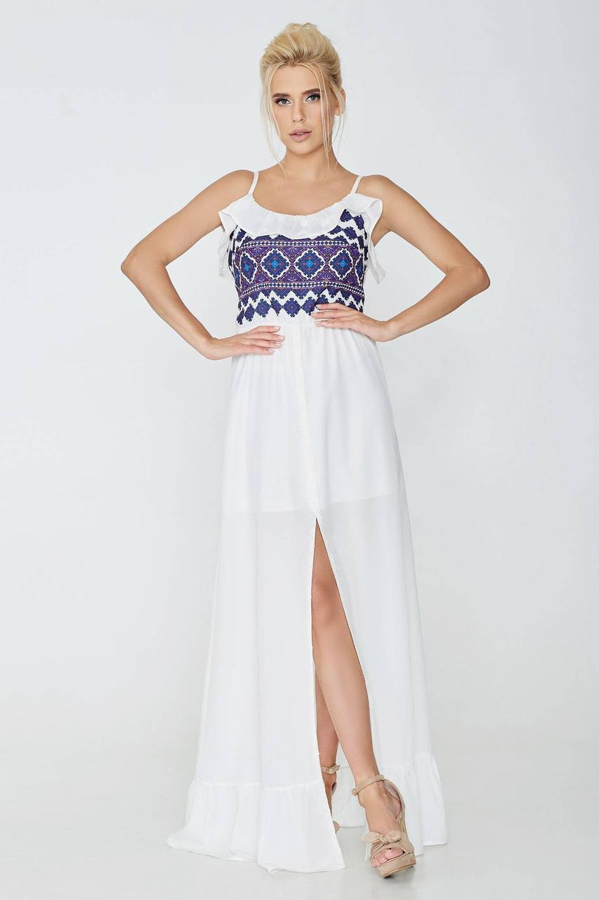 Платье NENKA 608-с01 M Молочный