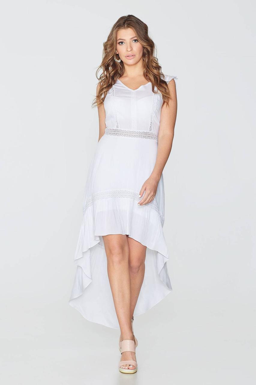 Платье NENKA 757-c01 L Белый