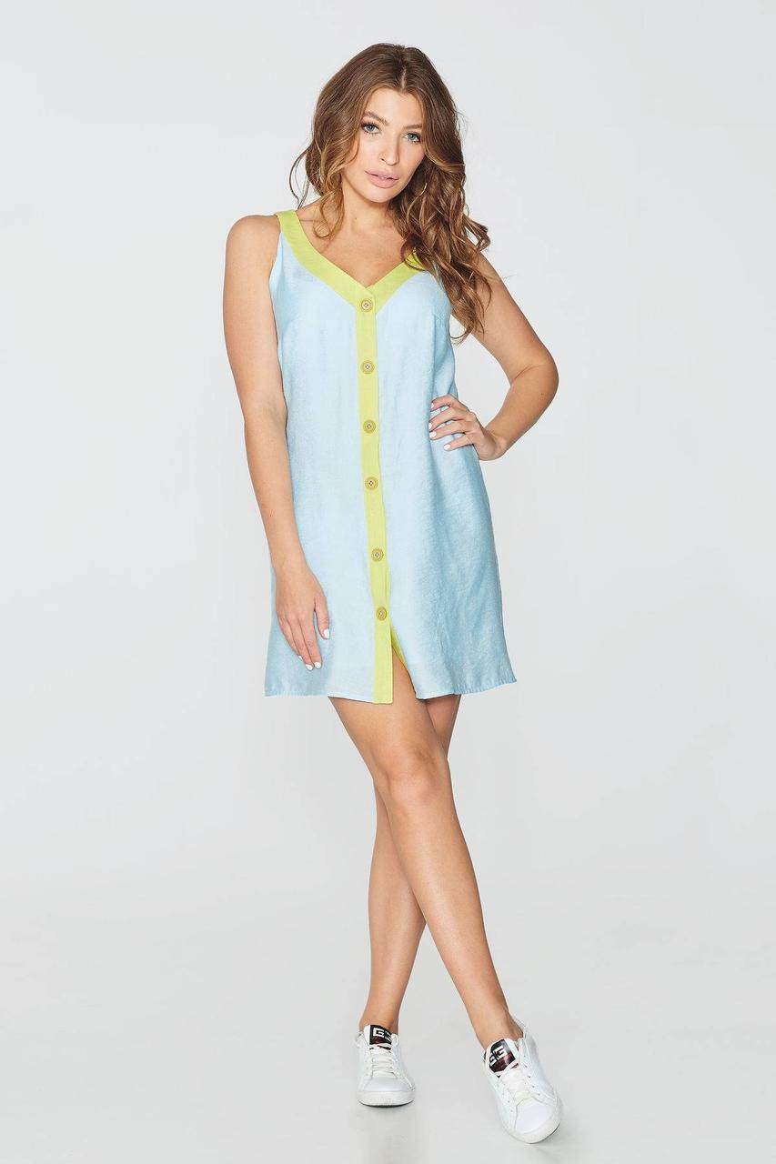 Платье NENKA 754-c01 S Голубой
