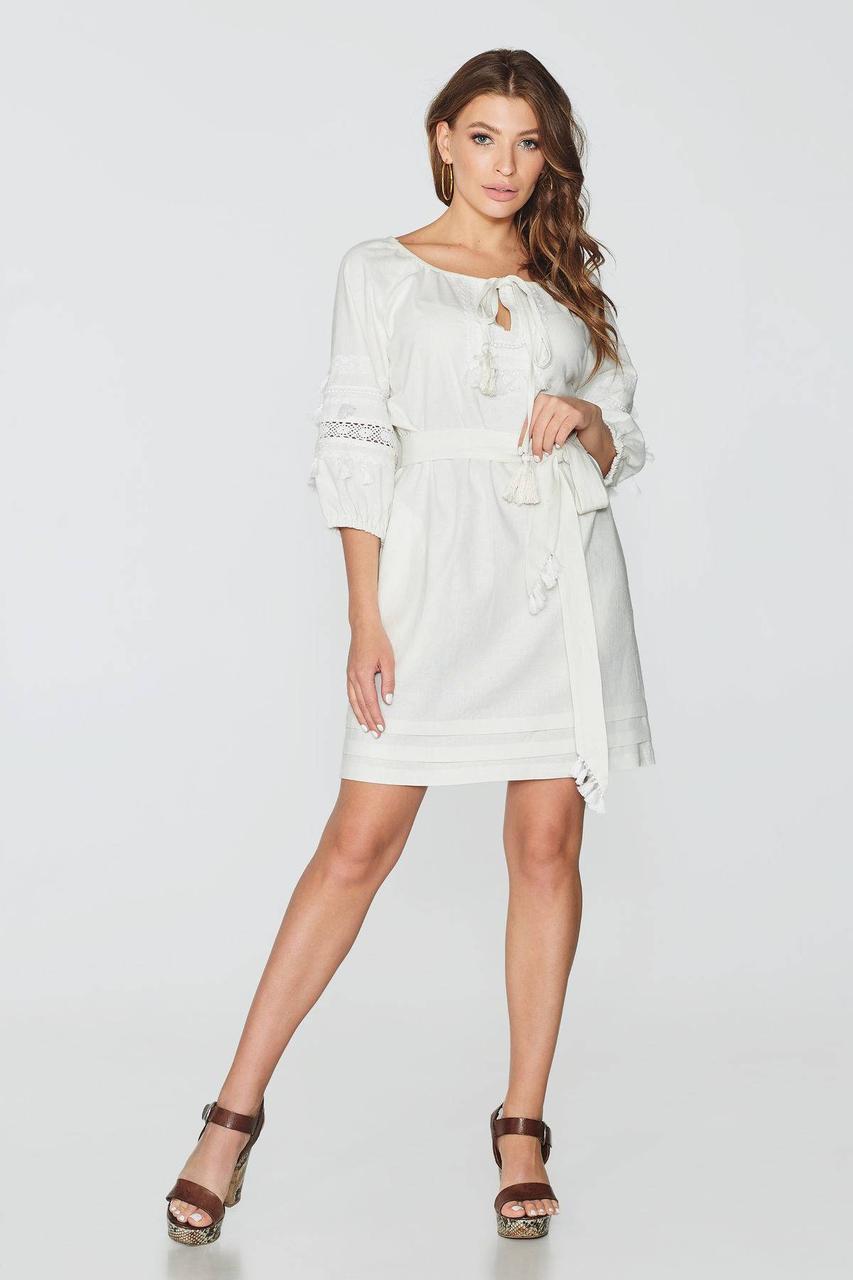 Платье NENKA 742-c02 S Молоко