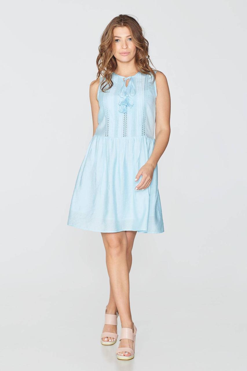 Платье NENKA 741-c01 M Голубой