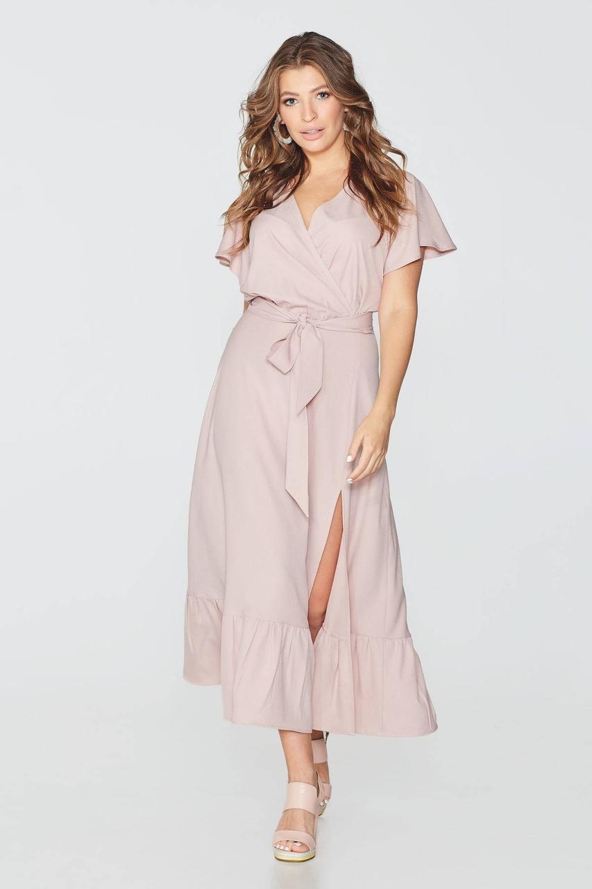 Платье NENKA 729-c01 M Пудра