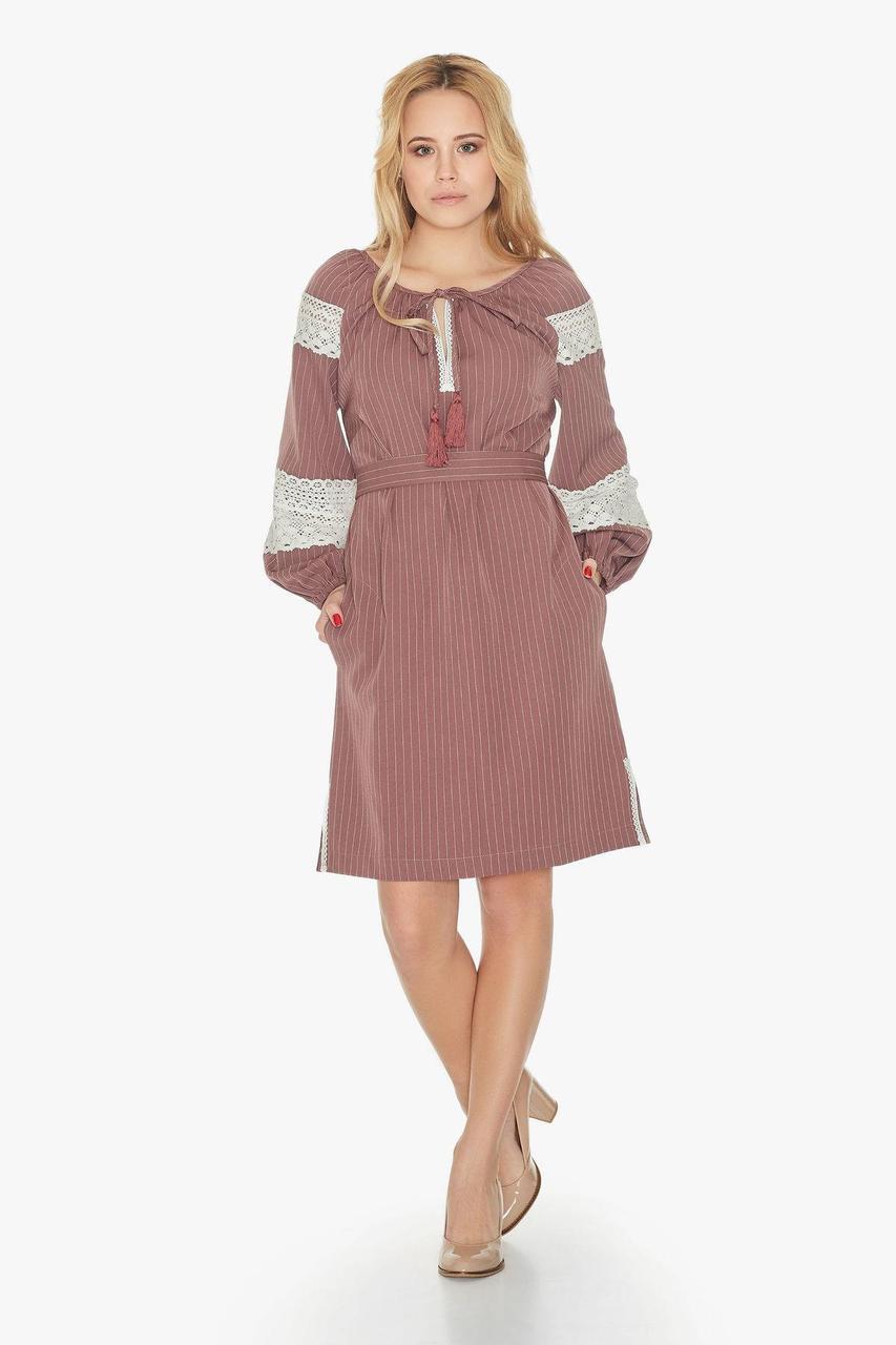 Платье NENKA 715-c02 M Пудра