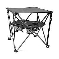 Стол складной Spokey Roadie Черный s0518, КОД: 988829