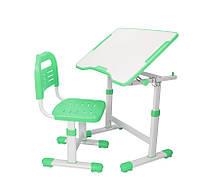 Парта и стульчик  FunDesk для школы Sole II Green