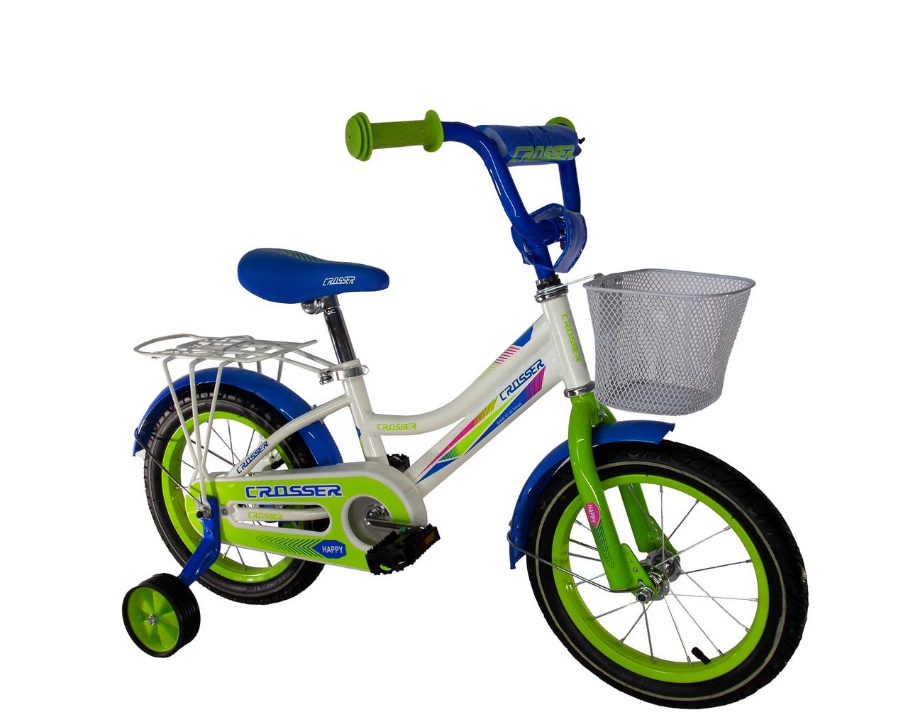 """Детский велосипед для девочек Crosser Happy 14"""""""