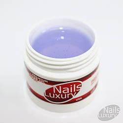 Гель для наращивания ногтейNails LuxuryUSA Premium Clear Gel Violet