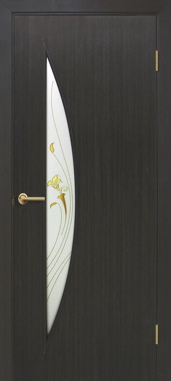 Двері Оміс Парус СС+КР. Полотно+коробка+2 до-т лиштв+добір 100мм, ПВХ