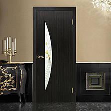 Двері Оміс Парус СС+КР. Полотно+коробка+2 до-т лиштв+добір 100мм, ПВХ, фото 2