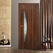 Двері Оміс Парус СС+КР. Полотно+коробка+2 до-т лиштв+добір 100мм, ПВХ, фото 3