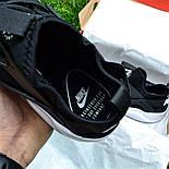 Мужские кроссовки Nike Air Huarache Ultra Black/white черные с белым 36-44рр.. Живое фото (Реплика ААА+), фото 6