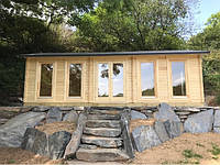Дом деревянный из профилированного бруса 4х8. Скидка на домокомплекты на 2020 год