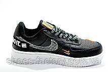 Женские кроссовки в стиле Nike Air Force 1, 2019 Just Do It Black\White, фото 3