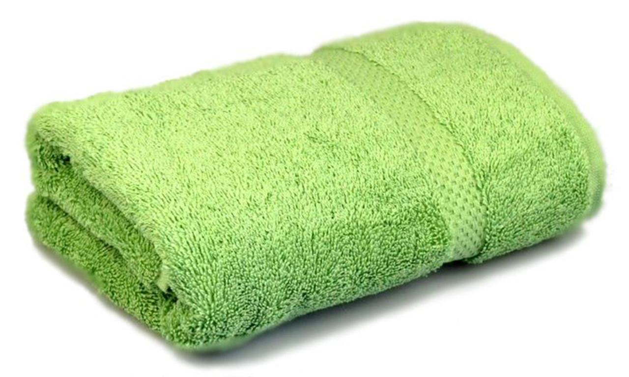 Полотенце махровое, 500гр/м2,  бордюр, 70х140, цвет: фисташковый