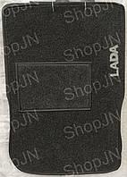 Ворсовые коврики ВАЗ 2108-2199, 2113- 2115 LADA  (серый)