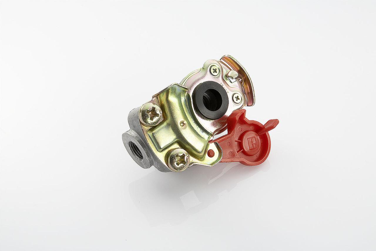 Головка пневматическая М16х1,5 красная без Клапана 9522000210