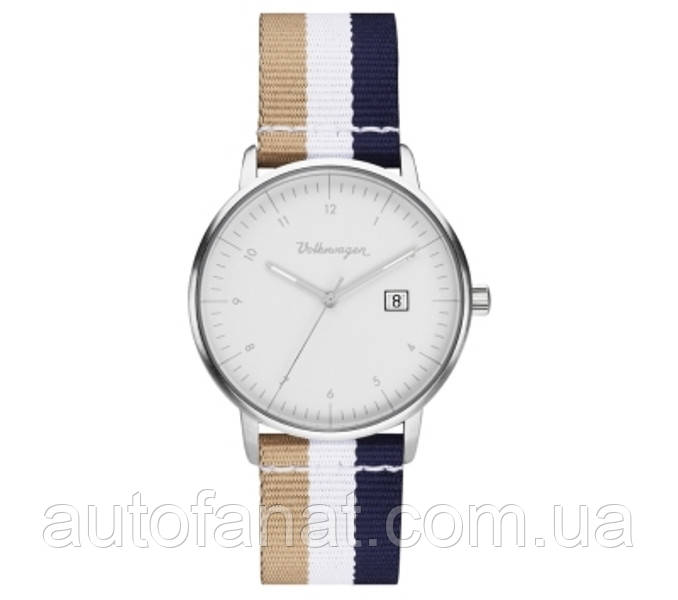 Оригинальные наручные часы унисекс Volkswagen Classic Watch, Unisex, Vintage Style (311050800)