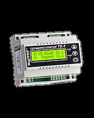 Терморегулятор DigiTOP ТК-7 (трехканальный с недельным программатором, датчик DS18B20) DIN 0°C…+90°C