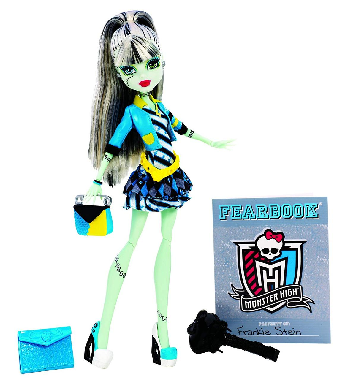 Кукла Монстер Хай Фрэнки Штейн День фотографии Monster High Picture Day Frankie Stein Doll