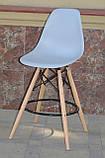Барний стілець Nik Eames, сірий, фото 2