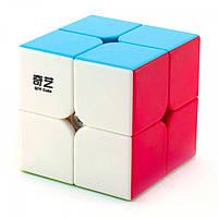 Кубик MoFangGe 2x2 QiDi (S), кольоровий пластик