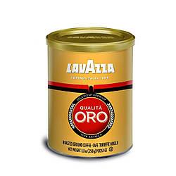Кофе молотый Lavazza Qualita Oro 250гр., ж/б, Лавацца Оригинал Италия!