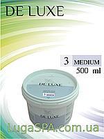 Цукрова паста de Luxe (Medium), 500 гр.